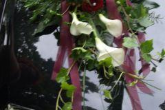 Beispiel: rot-weiß Hochzeit