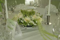 Beispiel: Tischdekoration ab 20 Euro