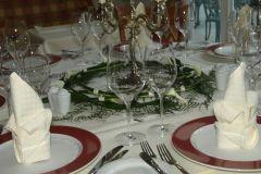 Beispiel: Tischdekoration ab 40 Euro